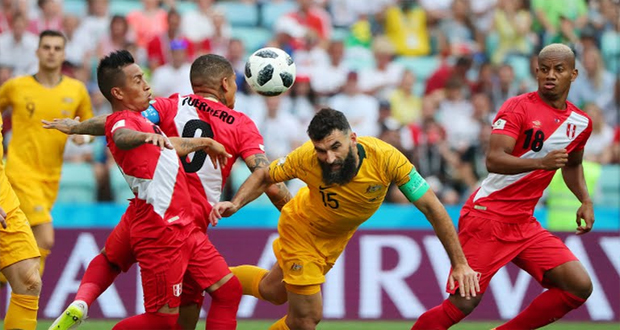 Australia Out Of World Cup After Losing From Peru