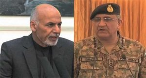 Ghani Telephones COAS, Informs Killing of Fazalullah