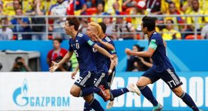 FIFA WC: Japan Beat Columbia In First Match