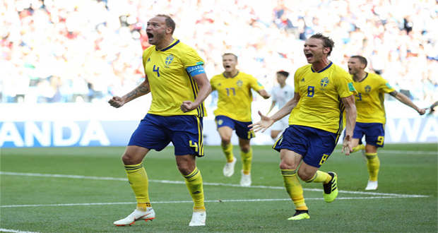 FIFA WC 2018: Sweden Beat South Korea By 1-0