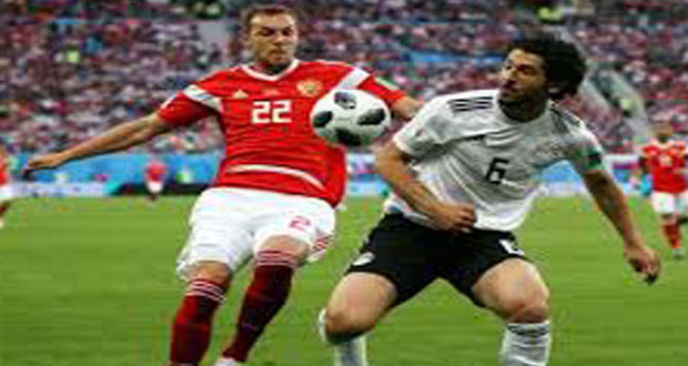 Russia Beat Egypt In Football World Cup