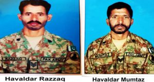 Six Terrorists Killed, Two Soldiers Martyred in S. Waziristan