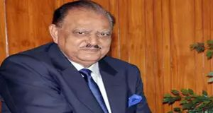 President Mamnoon Arrives In Tajikistan On Four-Day Visit