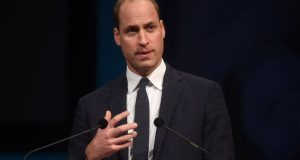 Britain Prince William On Visit To Middle East, Israel