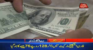 Dollar Continues To Rise: Increases By 76 Paisa