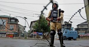 Complete Shutdown Being Observed in Kashmir Today