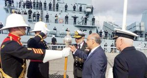 Pak Navy Ship PNS Aslat In UK for High Level Engagements