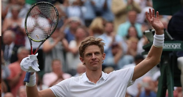 Kevin Anderson Qualifies for Wimbledon Open's final