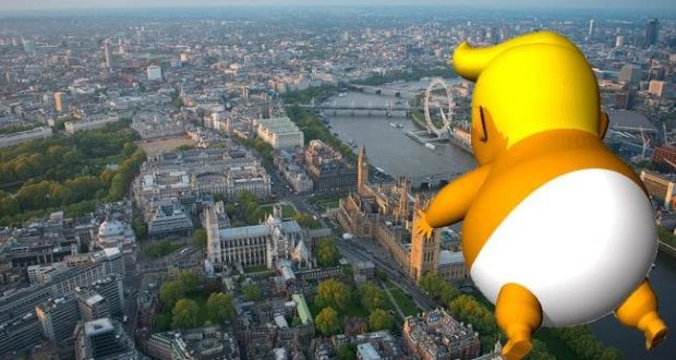 Baby Trump To Fly During Trump Visit To London As Protest