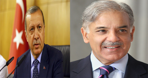 Erdogan Writes Letter To Shehbaz, Expresses Well-Wishes