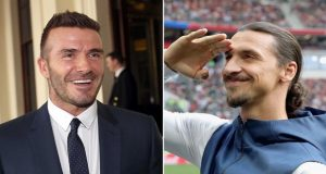 Ibrahimovic-Beckham's Friendly Wager on Sweden-England