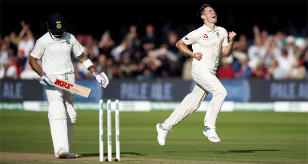 2nd Test: England Thrash India By An Innings And 159 Runs