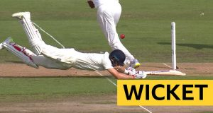 Joe Root Run-out Sparks Hosts' Collapse in First Test