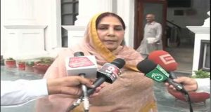 PPP's Nighat Creates Ruckus On Disallowing Vote in KP Assembly