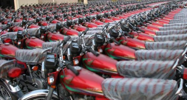 Motorcycle Imports Witness 15.5 % Increase