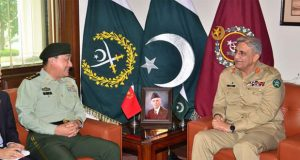 Chinese General, COAS Discuss Regional Security Issues