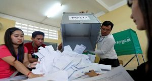 Combodia's Ruling Party Win Election
