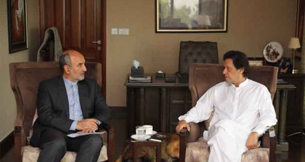 Iranian Envoy Meets Imran, Bilateral Issues Discussed