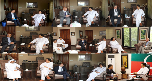Pictorial Of Imran's Meeting With World Representatives