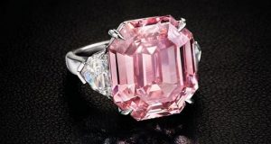 19 Carat Pink Legacy To Be Auctioned In November