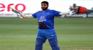 Shahzad's Ton Helps Afghanistan to Set 253-Run Target