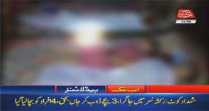 Three Children of A Family Drowned In Nasirabad