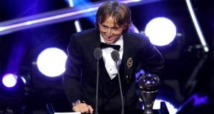 Luka Modric Wins FIFA Best Player Award