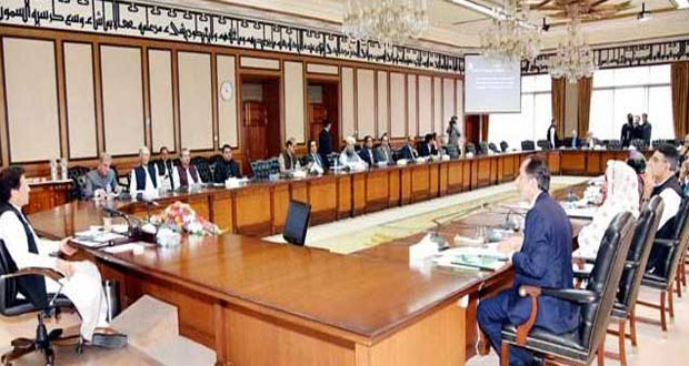 Federal Cabinet Meeting Underway