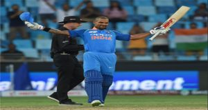 Asia Cup: Dhawan Ton Helps India to Set 286-run Target for HK