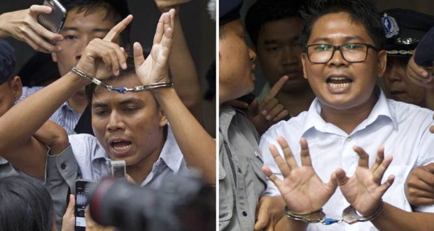 Journalists Jailed for Investigating Rohingya Killings