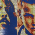 Artist Makes Celeb Portraits From Rubik's Cubes