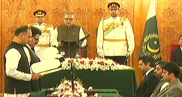 Six New Ministers Take Oath In PM's Federal Cabinet
