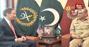US Envoy, COAS Discuss Regional Security, Afghanistan