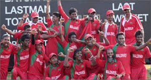 Maldives Cricket Team's 9-day Tour Begins Today