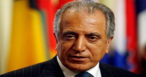 US Envoy Khalilzad Meets Taliban In Qatar