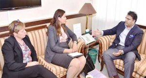 Swedish Envoy For Human Rights Meets Fawad