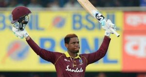 West Indies Post 322 Against India in First ODI
