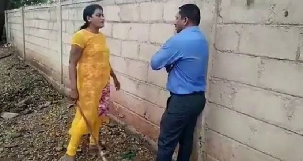 Viral: Woman Thrashes Bank Officer Asking Sexual Favors