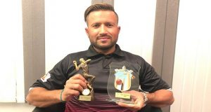 "Pakistani Cricketer Receives ""Best Player of the Year Award"""