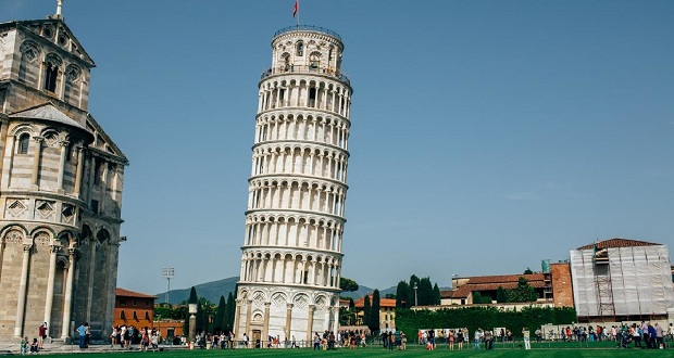 Leaning Tower of Pisa Starts Straightening Up