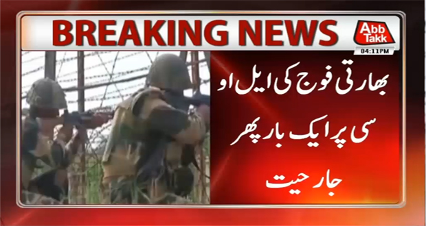 India Restores Firing on LoC, No Casualty Reported