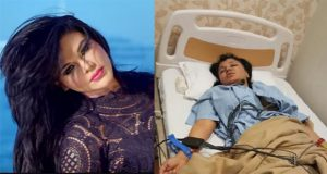 Rakhi Sawant Hospitalized After Wrestling Stunt