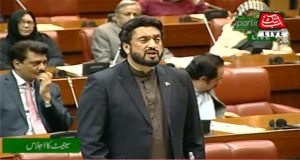Shehryar Afridi Addresses Senate Over SP Tahir's Murder