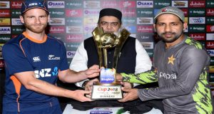 Pakistan, New Zealand ODI Series Trophy Unveiled In UAE