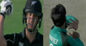 Ross Taylor Objects On Hafeez Bowling Action