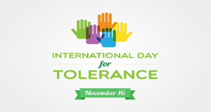 International Day for Tolerance Being Observed Today