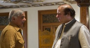 Sharif Brothers Reunite At Ministers' Enclave Islamabad