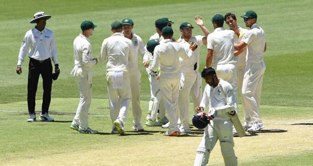 Australia Thrash India By 146 Runs Win, Level Test Series 1-1