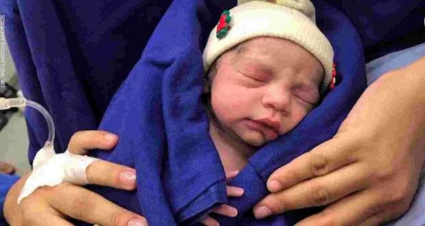 Baby Born From a Deceased Woman's Uterus