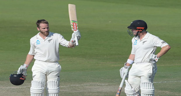3rd Test: Williamson Ton Puts Kiwis in Strong Position